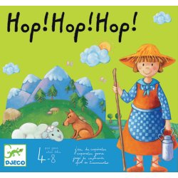 Hop ! Hop ! Hop ! - jeu de coopération Djeco