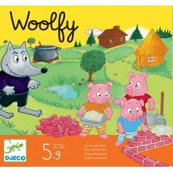 Woolfy jeu coopératif djeco