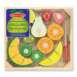 Dînette fruits en bois à couper - Packaging
