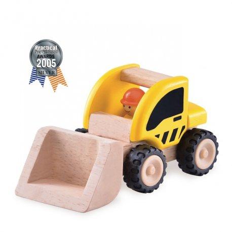 Camion bulldozer en bois