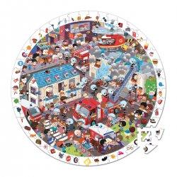 Pompiers de l'extrême - puzzle d'observation 208 pièces