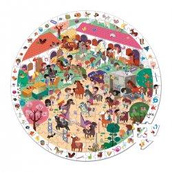 Au galop - puzzle d'observation 208 pièces