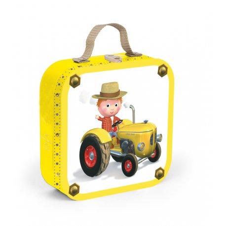 4 Puzzles Le tracteur de Peter Janod