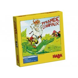 Pyramide d'animaux Haba - Boîte