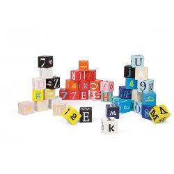 Kubix 40 cubes lettres et chiffres