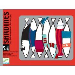 Sardines - jeu de mémoire Djeco