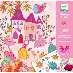 Princesses : Histoires à créer Djeco