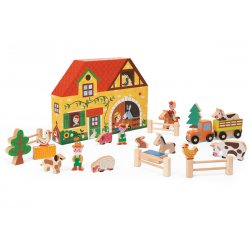 Story Box Ferme avec figurines