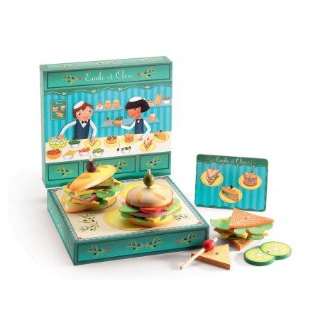 Dinette Sandwichs Emile & Olive