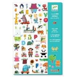 1000 stickers pour les petits - Pochette