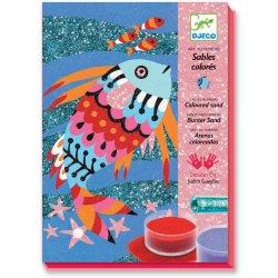Arcs-en-ciel de poissons - Sables colorés - Coffret