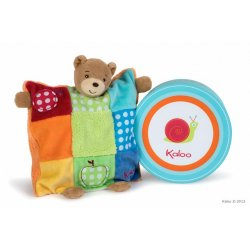 Doudou Ourson marionnette colors
