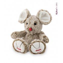 Peluche Kaloo souris couleur sable 19 cm