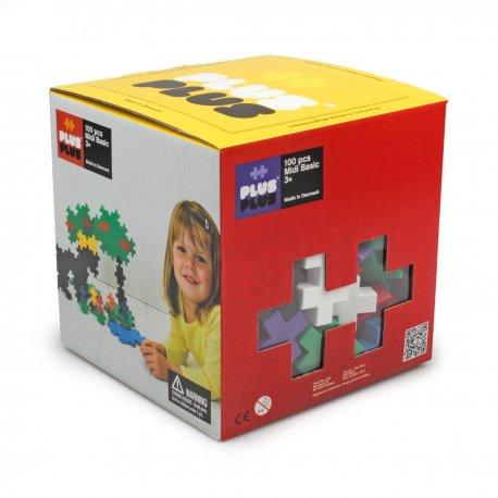 Plus plus Box Midi Basic - 100 pièces