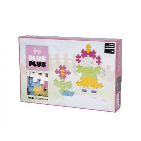 Plus plus Box Midi Pastel - 50 pièces