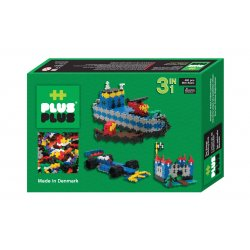 Plus plus Box mini Basic 480 pièces - 3 en 1