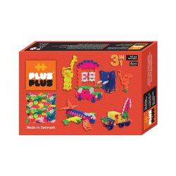 Plus plus Box mini Néon 480 pièces - 3 en 1