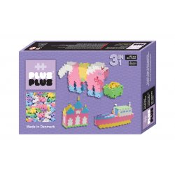 Plus plus Box mini Pastel 480 pièces - 3 en 1