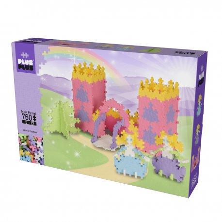 Plus plus Château de princesses Box mini pastel 760 pièces