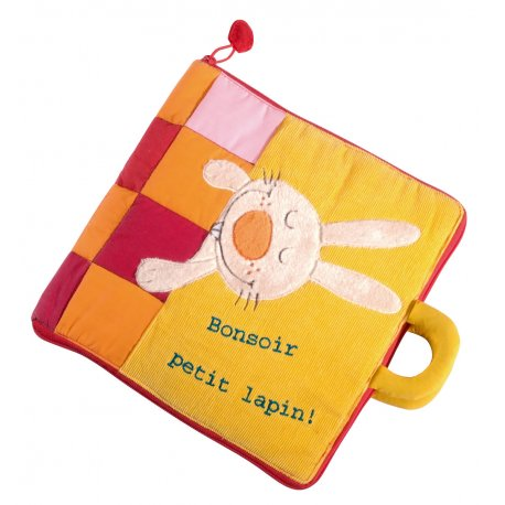 Bonsoir Petit Lapin - Grand livre interactif