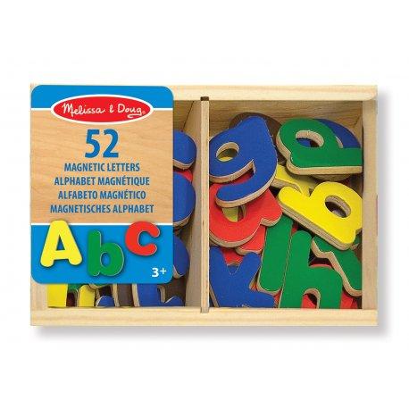Lettres magnétiques en bois