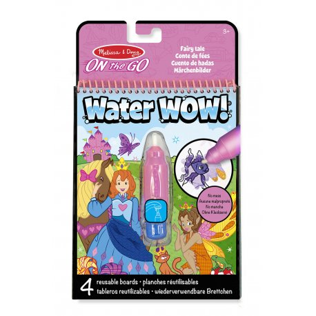 Dessins à l'eau Conte de fées