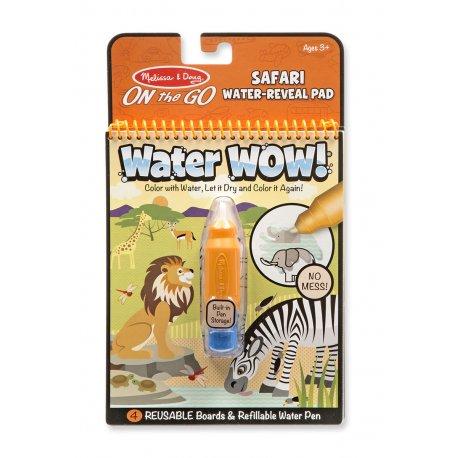 Dessins à l'eau Safari - pochette