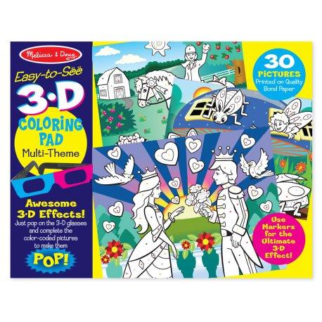 Coloriage 3D pour filles