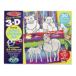 Coloriage 3D Animaux