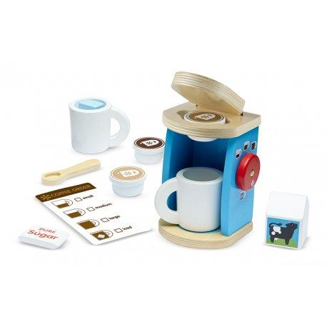 Machine expresso et service à café en bois