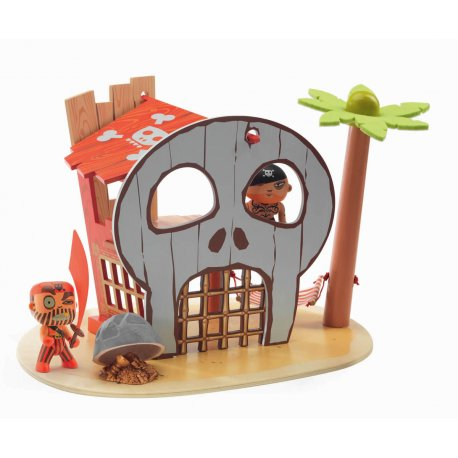 Ze pirate island - l'île des pirates Arty toys