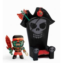 Kyle & Ze throne - pirate Arty toys