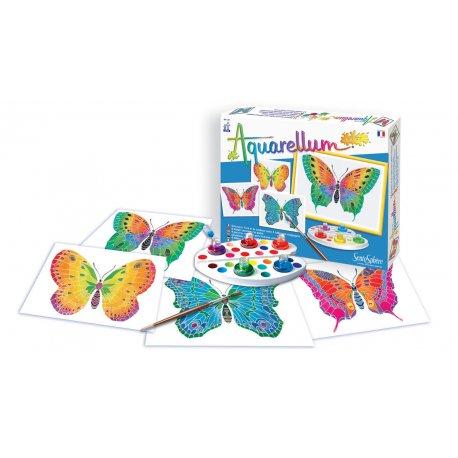 Aquarellum junior papillons