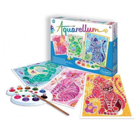 Aquarellum Chats