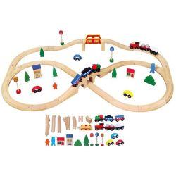 Circuit de Trains - 49 pièces