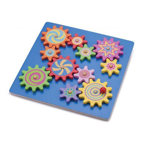 Puzzle à engrenage