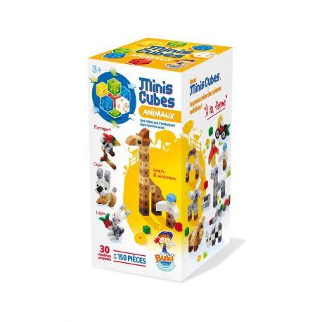 Mini Cubes Animaux - Boîte