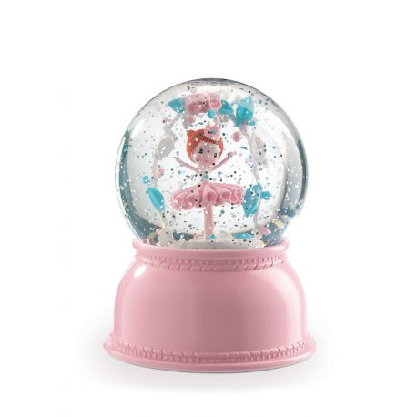 Veilleuses boule de neige Ballerine