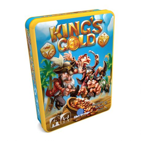 King's gold - boîte en métal