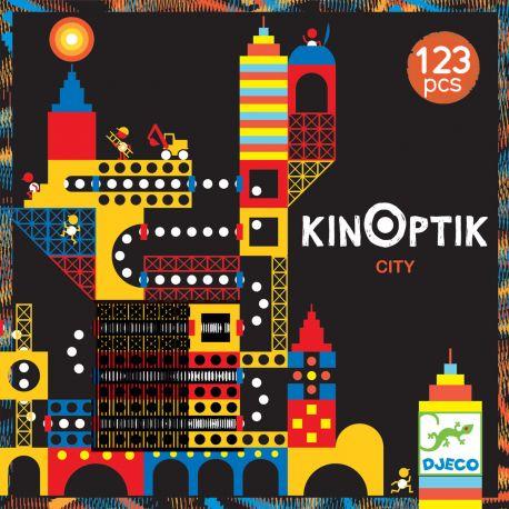 Kinoptik Ville jeu de construction magnétique - boite
