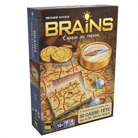Brains Chasse au Trésor - Casse tête - Boîte