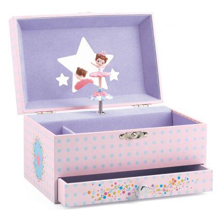 Boîte à bijoux musicale Mélodie de la ballerine