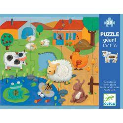 Puzzle 3 ans Tactiloferme - boîte