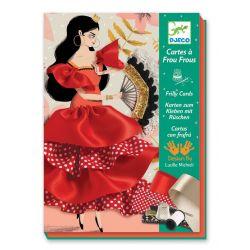 Cartes à frou-frous Flamenco - coffret