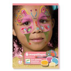 Coffret de maquillage papillon Djeco