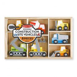 Set de véhicules de chantier