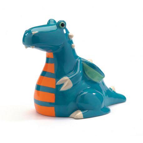 Tirelire enfant dragon Féroce appétit