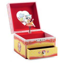 Boîte à bijoux musicale La chanson de Minette