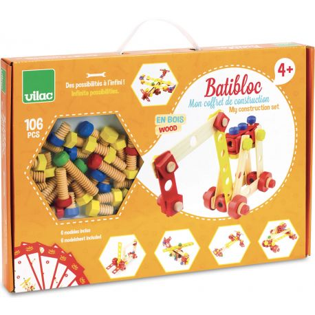 Coffret de construction Batibloc - boîte