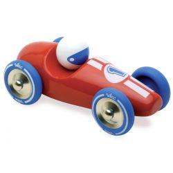 Voiture de course GM bleue